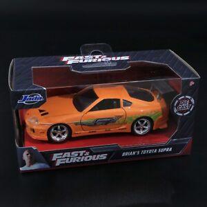 Jada - Fast & Furious - Brian's Toyota Supra - 1:32 - Brand New