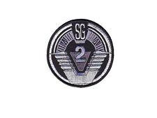 Stargate SG1 ecusson avec scratch  team SG2 stargate SG2 hook and loop patch