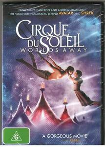 DVD CIRQUE DU SOLEIL Worlds Away R4 New & Sealed With Special Features