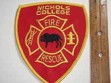 NICHOLS COLLEGE FIRE DEPARTMENT DUDLEY MASSACHUSETTS  FIRE RESCUE BX M 2