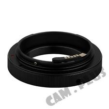AF Confirm T2 T-Mount lens to Canon EOS For Digital Kiss X50 F X5 X4 X3 Adapter