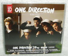 One Direction Kiss You 2013 Taiwan CD w/OBI (Little Things)