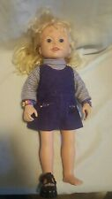 Amazing Ally doll blonde hair blue eyes replacement parts and pieces Cartledge