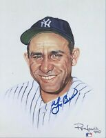Yogi Berra Autographed Signed 8x10 Photo ( HOF Yankees ) REPRINT