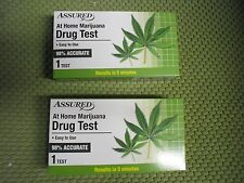 New ! 5 PK Assured At Home Marijuana  Drug Test Easy to Use Results in 5 Minutes
