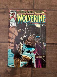 Wolverine #40 Marvel Comic Books 1989 VF