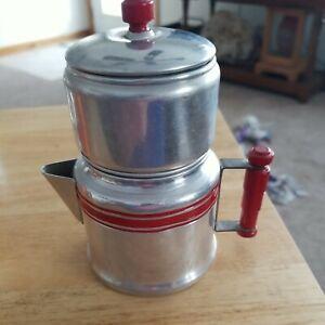 Vintage Child's Cookware Metal/Aluminum COFFEE POT.