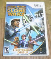 Nintendo Wii Game - Star Wars: The Clone Wars Lightsaber Duels