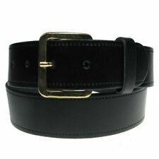 """New Mens Full Real Leather Belt Made in England UK 28""""-60"""" Trousers and Jeans"""