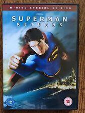 Brandon Routh KEVIN SPACEY Superman Returns ~ 2006 Película Disco 2 ESPECIAL