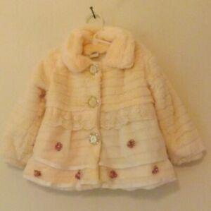 Toddler's Orange padded coat, age 2 - 3T NWOT