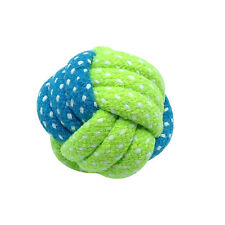 Interactive Braided Dog Toys For Puppy Kitten Bitting Teeth Cleaning Play Ball
