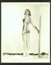 "SEXY BETTY GRABLE ORIGINAL PIN-UP PHOTO ""MILLION DOLLAR LEGS"" SWIMSUIT VF 1939"