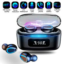 New listing Bluetooth Earbuds Wireless Earphone Ipx7 WaterProof for iPhone Samsung Android