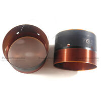 2pcs voice coil  76.2mm 3inch Speaker Repair Subwoofer 8OHM Speaker In and out