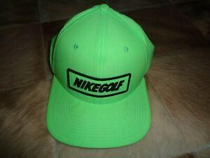 Nike Golf Adjustable Golf Hat - Lime Green - NICE!!