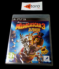 MADAGASCAR 3 DE MARCHA POR EUROPA Sony Playstation 3 PS3 Play PAL-España NUEVO