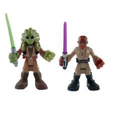 Playskool Star Wars Galactic Heroes Mace Windu & Kit Fisto Figure Set