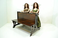 Catholic church bench for Dolls 1/4 scale 16-18 inch Tonner Diorama wooden 1 pcs
