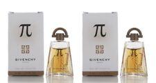 Givenchy Pi Eau de Toilette for Men EDT Splash 0.17 oz 5 ml Mini New x 2 PCS