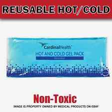 3pk Reusable Flexible Comfort Gel Ice Pack Hot & Cold Compress NonToxic - 4x10