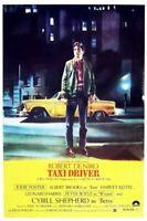 Taxi Driver (1976) Martin Scorsese Robert De Niro Jodie Foster Movie Poster NEW