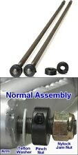 1/2 Inch Thru Rod Kit With Nuts For Stock Width Front VW Bug Axle Beam