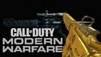 Call of Duty Modern Warfare PS4 1 GOLD GUN SERVICE!
