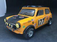 Politoys Austin Mini cooper n°582 amélioré rallye coupedes Alpes   1:24