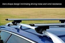 Aerodynamic Roof Rack Cross Bar for Holden Captiva 5 7 06-17 Lockable 120cm