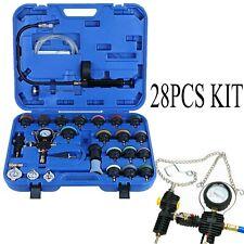 28PC Universal Vacuum Radiator Coolant Pressure Cooling System Pneumatic Tester