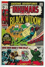 Amazing Adventures 6 Featuring The Inhumans and the Black Widow Jack Kirby Art