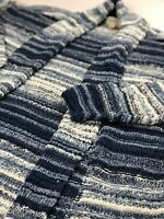 Style & Co Striped Open-Front Cardigan- Blue- Varies Sizes- NWT