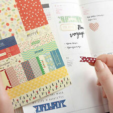 8Pcs Forest Story Paper Stickers Scrapbook Calendar Diary Planner Decoration New