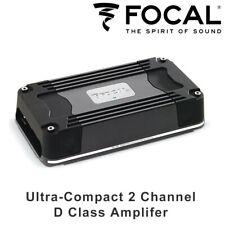 Focal FDS 2.350 Ultra-Compact 2 Channel D Class Amplifer 360W RMS Power Bridged