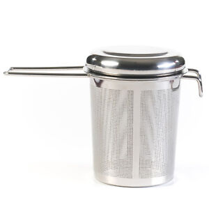 Extra Fine Mesh Non Magnetic Stainless Steel Tea Infuser Strainer Set