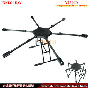 DIY 1650mm Frame Hexacopter Multi Rotor For Agricultural Spray/Commercial Drone