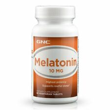 GNC Melatonin 10 mg 60 Vegetarian Tablets