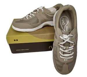 Ryka Radiant Women's Walking Shoes Ortholite Insole Brown/Tan size 8 W