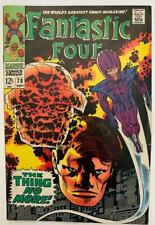 """(1968) THE FANTASTIC FOUR #78 """"The Thing No More""""! Jack Kirby! Stan Lee!"""