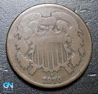 1870 2 Cent Piece  --  MAKE US AN OFFER!  #B3626