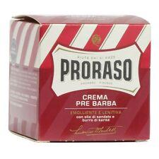 Proraso Pre-Shave Cream (Sandalwood & Shea Butter) 100ml BNIB