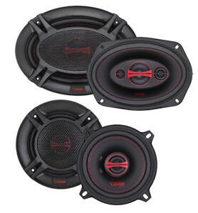 """DS18 GEN-X 6x9"""" + 6.5"""" Car Audio Door Speakers Combo 660 Watts 4 Ohm Coaxial"""