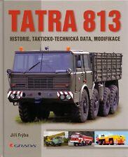 Book - Tatra 813 Kolos - Czech Military Truck Civilian Versions 1967 1982 Fryba