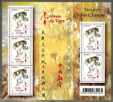 "France - ""YEAR OF THE TIGER ~ CHINESE ZODIAC"" MNH MS 2010 !"