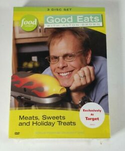 New GOOD EATS WITH ALTON BROWN : Vol. 1 - Meats, Sweets and Holiday Treats, DVD