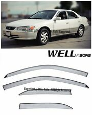 For 97-01 Camry WellVisors Side Window Visors Premium Series Rain Guard