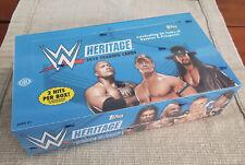2015 Topps Heritage WWE Sealed Hobby Box (2 Hits)