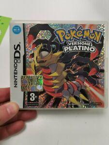 Pokémon - Versione Platino Edizione Italiana Originale Nintendo DS