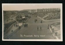 Wales Glamorgan Glam BARRY ISLAND Beach 1927 RP PPC